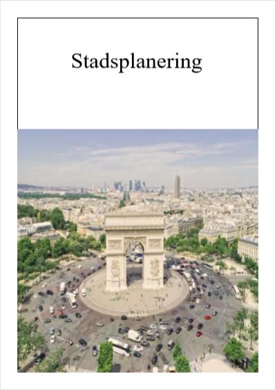 Stadsplanering – Adam B