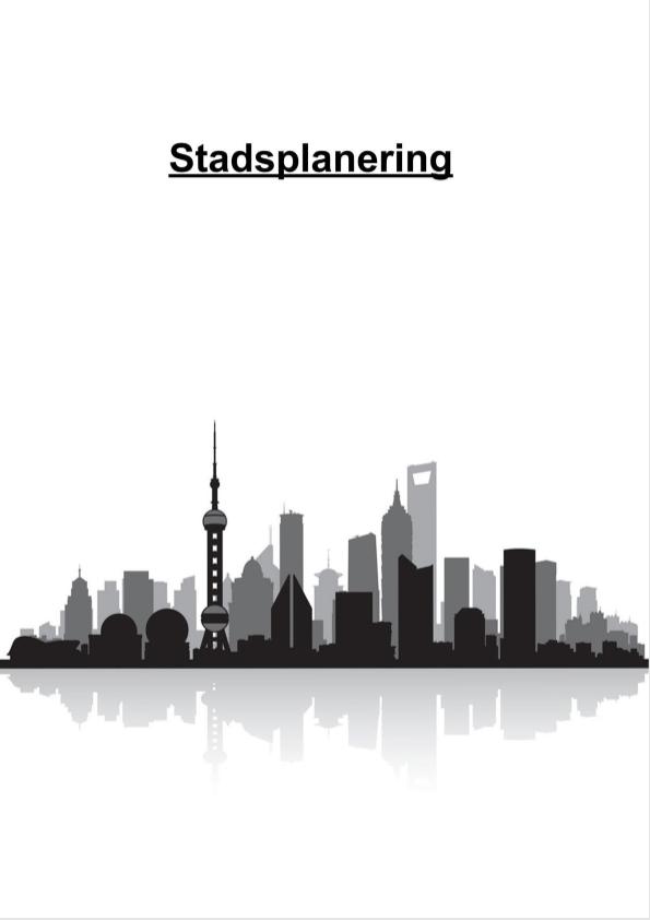 Stadsplanering – Einar