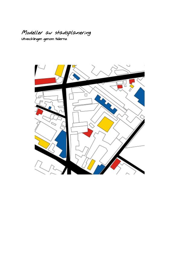 Stadsplanering – Linus