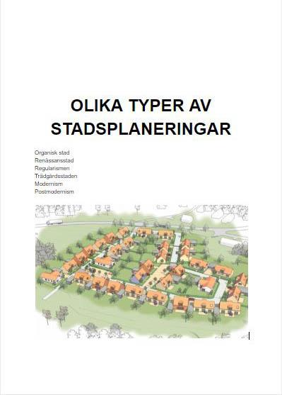 Stadsplanering – Rasmus