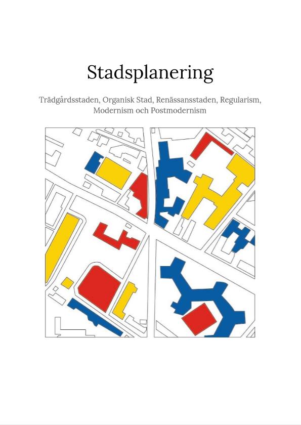 Stadsplanering – Alexander