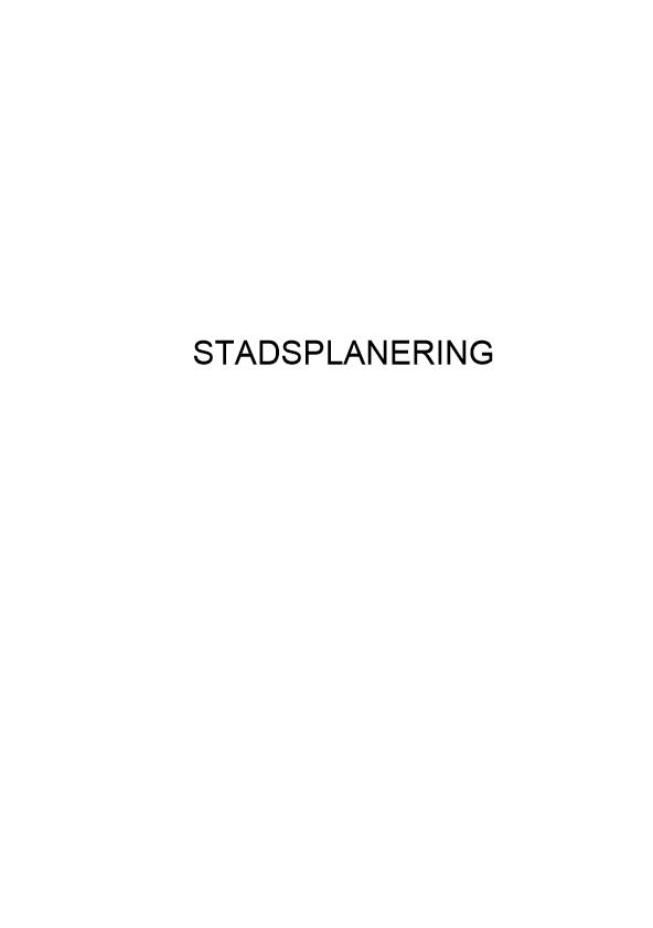 Stadsplanering – Sadiq