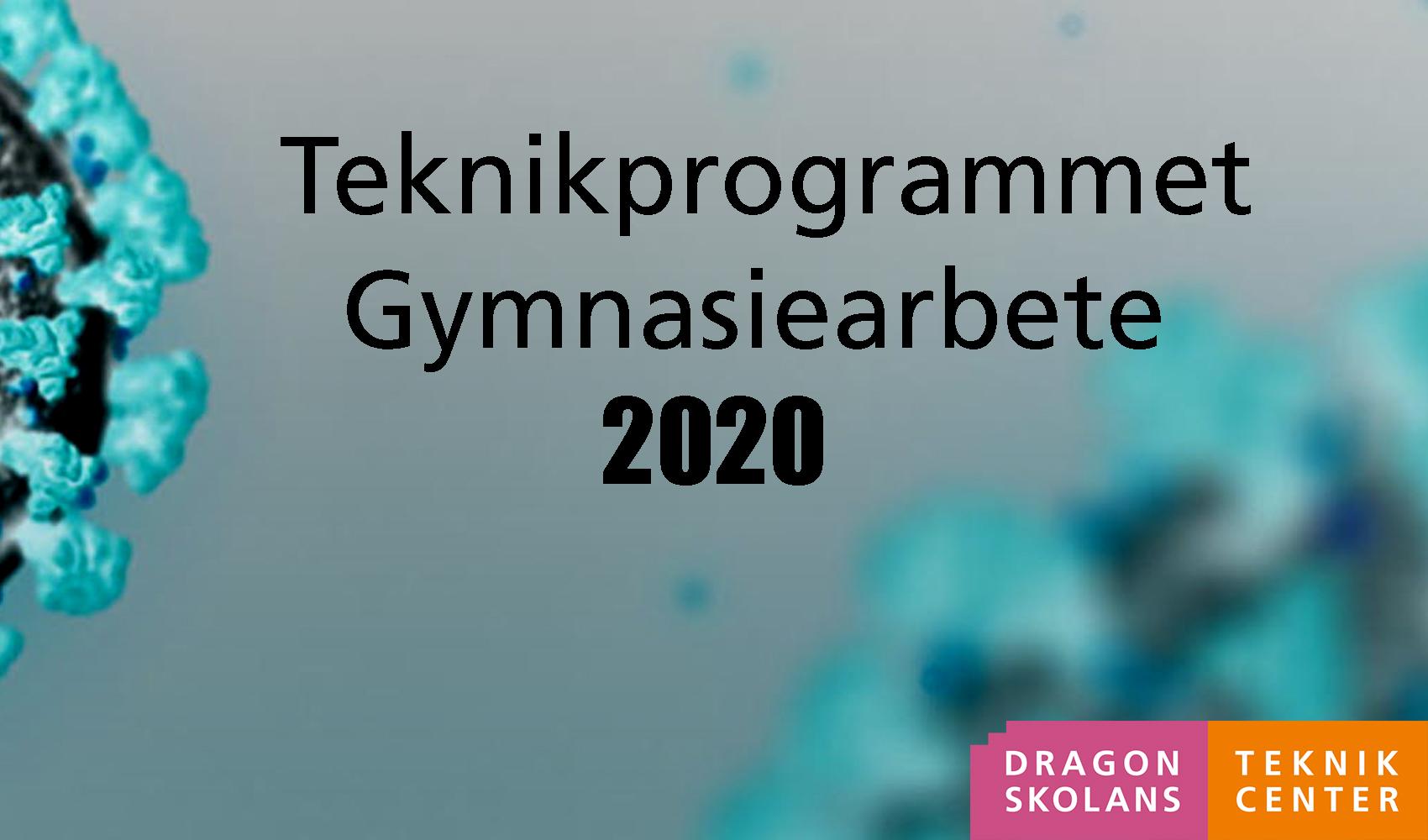 Teknikprogrammet GARB 2020